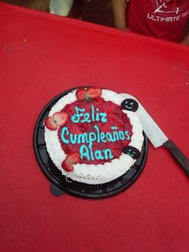 Alan's B-day Cake