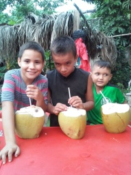 Flores Kids w Coconuts