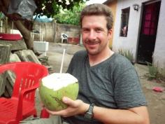 Me w coconut