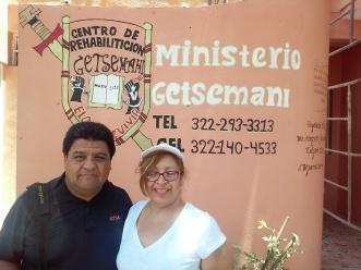 Pastor Leo and Pastor Elaine @ rehab